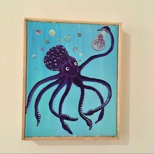 Octopus Wins At Carnival Nautilus Frame